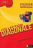 echange, troc Jean-Luc Brégeon, André Myx, Luce Dossat, Annick Flouzat, Pierre-Yves Vicens - Mathématiques CE1 : Fichier, programmes 2002