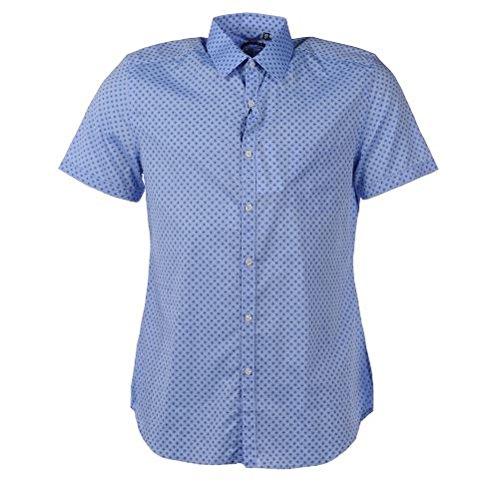 XACUS maglietta in cotone a maniche corte, ZB varie misure e colori disponibili Blue Pattern 399,06 cm/ 39,37 cm