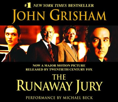 literary analysis of the runaway jury by john grisham Early life and education of john grisham seven more of his novels: the chamber, the client, a painted house, the pelican brief, the rainmaker, the runaway jury familiarization with the biographical facts of life of b shaw conducting analysis of the literary work of the.