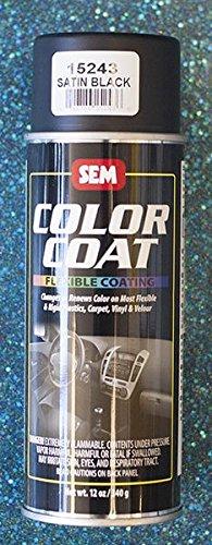 SEM Satin Black Color Coat 13oz Aerosol 15243 (Sem Color Coat Satin Black 15243 compare prices)