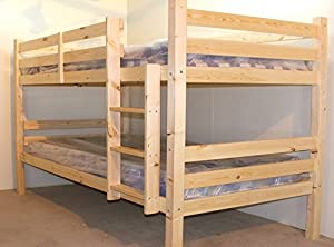 SMALL DOUBLE Bunkbed - 4ft TWIN Bunk Bed - VERY STRONG BUNK! - Heavy Duty Use