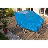 Spezial Abdeckplane für Gartenmöbel etc. 5 Jahre UV Beständig 2x2 2x3 3x4 6x1,5m grösse nach Wunsch (3x4m (12 m2 ))