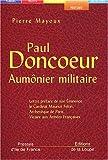 echange, troc Pierre Mayoux - Paul Doncoeur, aumônier militaire (grands caractères)