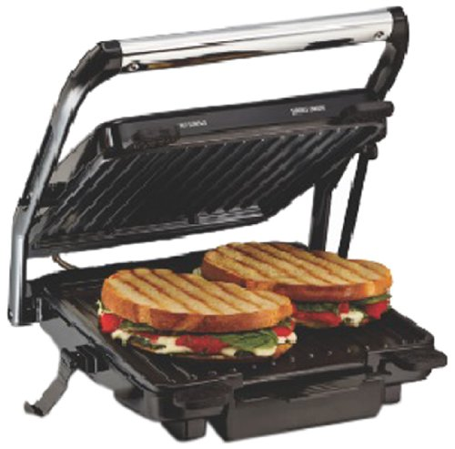 Hamilton Beach 25451-IN 1200-Watt Panini Press and Indoor Grill Sandwich Maker