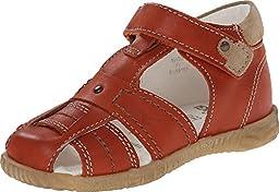 Primigi Kids Baby Boy\'s Lars-E (Infant/Toddler) Orange Sandal 18 (US 2.5 Infant) M