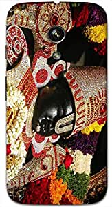 Timpax Protective Hard Back Case Cover Printed Design : Lord Venkateswara.Exclusively Design For : Motorola Moto-G ( 1st Gen )