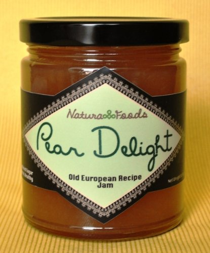 Pear Delight - Natura Foods All Natural Pear Jam, 8.5oz