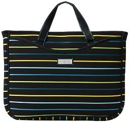 Hadaki 15.4 HDK810 Laptop Sleeve,O\'Pencil Stripes,One Size