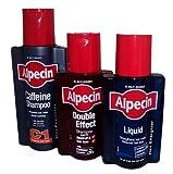 Alpecin Trio 250ml C1 Shampoo/200ml Double Effect Shampoo/200ml Liquid