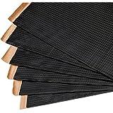 Noico Black 80 Mil X 36 Sq Ft Self-adhesive Foil & Butyl Sound Deadening Under Carpet and Mat, Replace Oem, Automotive Audio Deadener & Dampening Insulation for Cars & Trucks