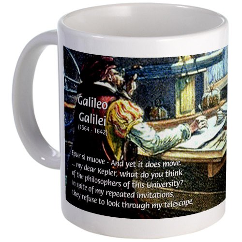 Cafepress Stubborn Resistance Galileo Mug - Standard