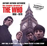 img - for Anyway, Anyhow, Anywhere: The Complete Chronicle of THE WHO 1958-1978 book / textbook / text book