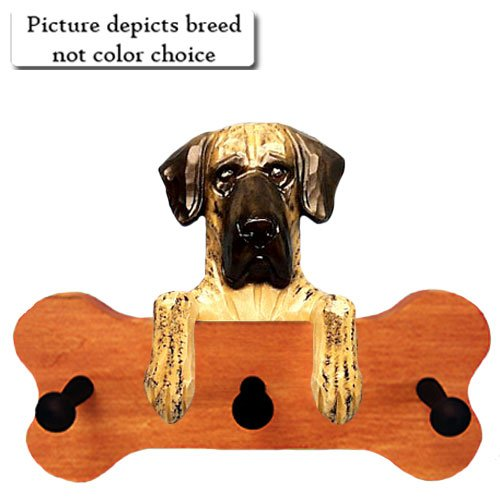 HARLEQUIN NATURAL Great Dane Bone Hang Up MAPLE FINISH