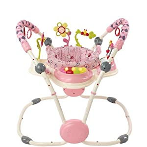 Bright Starts Activity Jumper, Pretty in Pink (Discontinued by Manufacturer)
