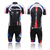 Outdoor Sports Pro Team Cycling Jersey and Pants Set(-241)