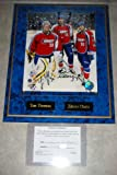 Tim Thomas and Zdeno Chara Autographed All Star Game Wall Plaque w/ COA at Amazon.com
