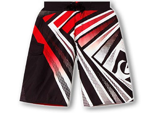 Quiksilver Illusion Mens shorts in red Size 32