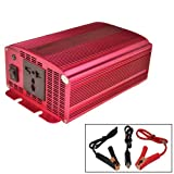 BESTEK 600w DC 12v to AC 230v Power inverter power supply 12v battery backup power charger inverter power solor charger battery Camping inverter boat power motor marine inverter power ac supply emergency power pack outdoor unit power source emergency Powe