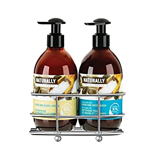 Upper canada soap naturally hand wash and Hand wash and lotion caddy