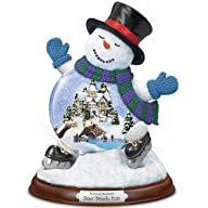 Thomas Kinkade Sno' Much Fun Snowglob…