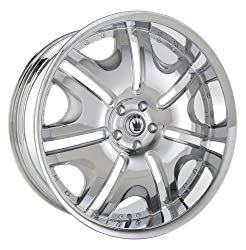 20×9.5 Konig Blix-1 (Chrome) Wheels/Rims 5×115 (B19051520C)