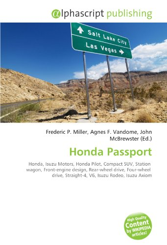 honda-passport-honda-isuzu-motors-honda-pilot-compact-suv-station-wagon-front-engine-design-rear-whe