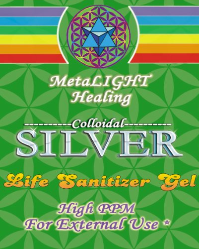 Colloidal Silver Life Sanitizer Gel 16 oz