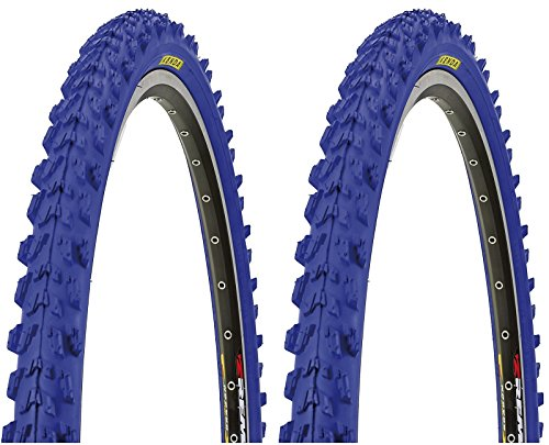 2-x-Kenda-MTB-Reifen-farbige-Fahrradreifen-26-Zoll-50-559-26-x-195-BLAU
