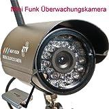 HF Mini Funk Überwachungskamera Mikro Kamera Nachtsicht 2,4...
