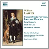Lawes: Consort Music for Viols, Lutes and Theorbosby William Lawes