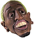 Adult Halloween Dennis Rodman NBA Celebrity 3/4 Mask Adult