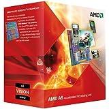 AMD A6-3500 APU with AMD Radeon 6530 HD Graphics 2.1/2.4GHz Socket FM1 65W Triple-Core Processor - Retail AD3500OJGXBOX