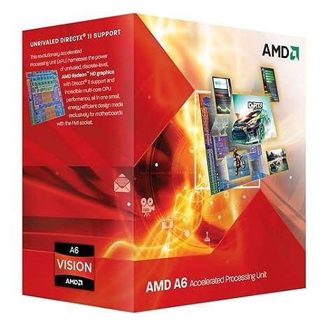 Processeur accéléré triple coeur AMD A6-3500 avec graphique dédié AMD RadeonTM HD 6530D - Socket FM1
