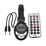 S9D Car Kit Mp3 Player Wireless Fm Transmitter Modulator USB Sd MMC Slot with Remote Red LCD Car