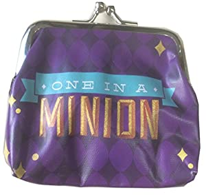 Minions Coin Purse with Metal Clasp