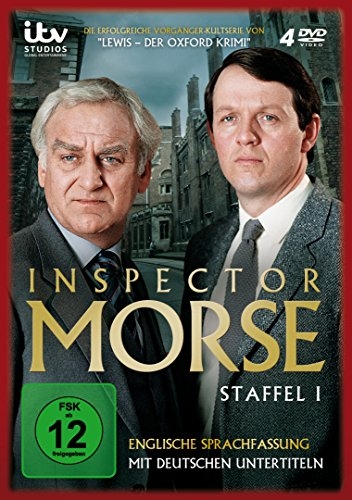Inspector Morse - Staffel 1 (4 Discs, OmU)