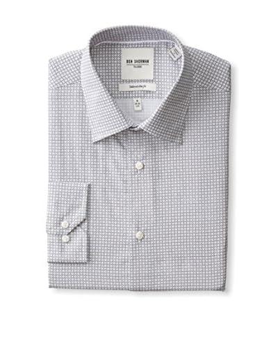 Ben Sherman Men's Patterned Dress Shirt