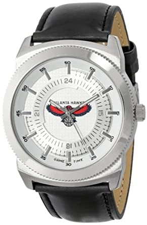 Game Time Mens NBA-VIN-ATL Vintage NBA Series Atlanta Hawks 3-Hand Analog Watch by Game Time