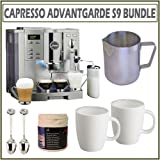 Capresso 13423 Impressa S9 One Touch 96OZ. Platinum Metallic Espresso Machi ....