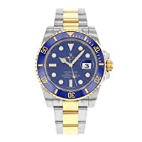 Rolex Submariner Date Steel And Yellow Gold Blue Ceramic 116613 Box/papers from Rolex