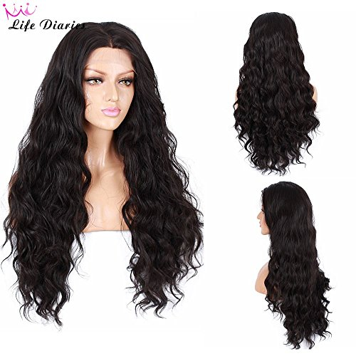 life-diaries-250density-fashion-long-natural-wave-10human-hair-90heat-resistant-fiber-glueless-lace-