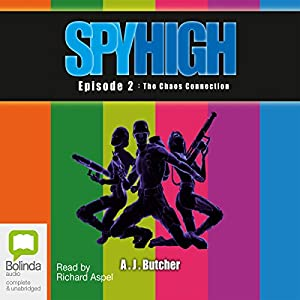 Spy High Episode 2 Audiobook