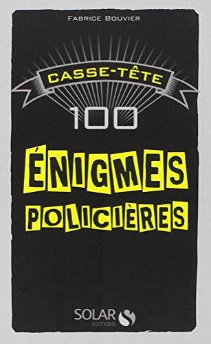 100 énigmes policières