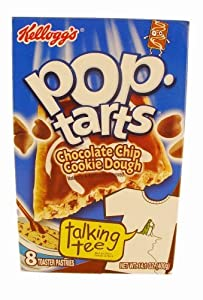 Kellogg's Pop-Tarts Frosted Chocolate Chip Cookie Dough Toaster Pastries 8 ct