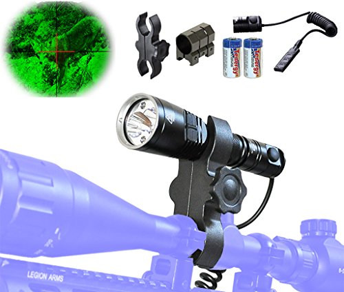 Bundle-Nitecore-CI6-High-Power-Infrared-IR-Illuminating-Hunting-Light-for-Night-Vision-with-Pressure-Switch-Scope-and-Rail-Rifle-Mounts
