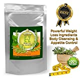 Easy E-Z Herbal Weight Loss Tea - Powerful Weight Loss Ingredients, Body Cleanse and Appetite Control. Proven Diet Formula. 30-Count Tea Bags