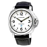 Panerai Men's Swiss Automatic and Gold Tone Stainless Steel Casual Watch, Color:Black (Model: PAM00630)