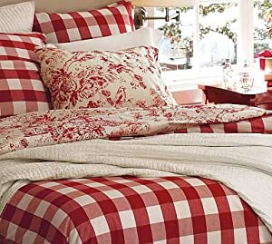 Amazon Com Pottery Barn Buffalo Check Duvet Cover Amp Sham