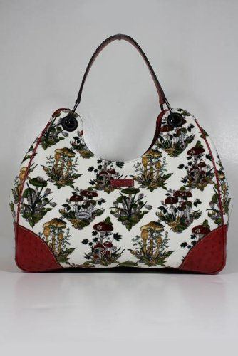 Gucci Handbags Large Floral Velvet and Leather 244343