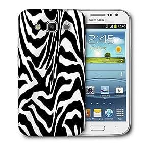 Snoogg Zebra Skin Printed Protective Phone Back Case Cover For Samsung Galaxy Samsung Galaxy Win I8550 / S IIIIII